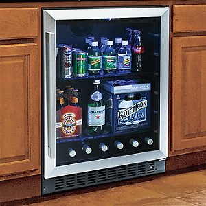 Wine Enthusiast Classic Beverage Center (Stainless Steel Trim)