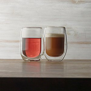 Steady-Temp Double Wall Chardonnay Stemless Wine Glasses (Set
