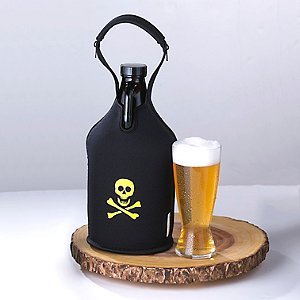 Growler Tote (Skull & Crossbones)
