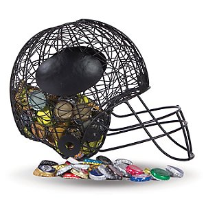 Football Helmet Beer Cap Caddy