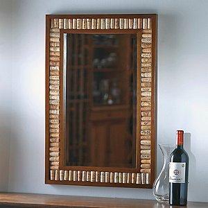Wine Cork Kit Mirror