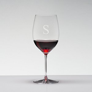 Personalized Riedel Veritas Cabernet Wine Glasses (Set of