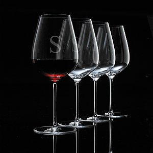 Personalized Fusion Air Bordeaux Wine Glasses (Set of