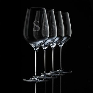 Personalized Fusion Air Universal Wine Glasses (Set of