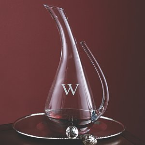 Personalized Teardrop Decanter