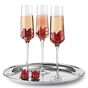 Wild Hibiscus Edible Cocktail Flowers (Set of 2)