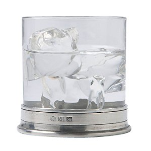 Match Pewter Double Old Fashioned Glasses (Set of