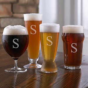 Personalized Fusion Craft Beer Tasting Set (4-Piece Set)