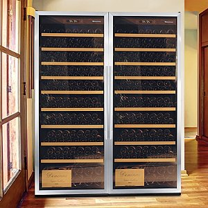 Wine Enthusiast Classic XL 600 Wine Cellar (Stainless