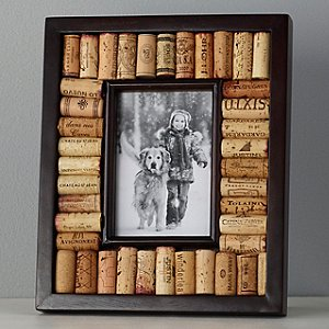 Wine Cork Picture Frame Kit (4x6 photo) (Espresso