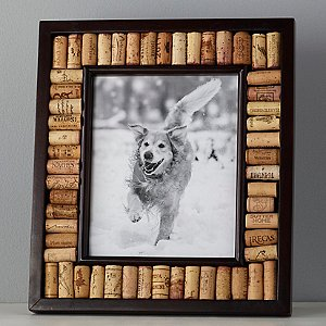Wine Cork Picture Frame Kit (8x10 photo) (Espresso