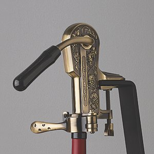 Legacy Corkscrew with Black Marble Handle (Antique Bronze)