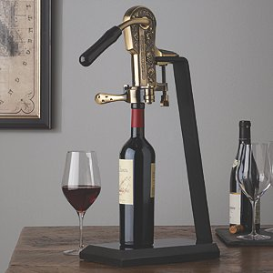 Legacy Corkscrew with Black Marble Stand and Handle