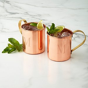Personalized Copper Mug (Set of 2)