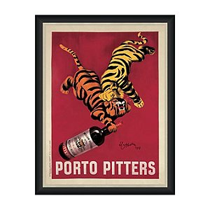 Porto Pitters Vintage Advertising Print Reproduction (35 X