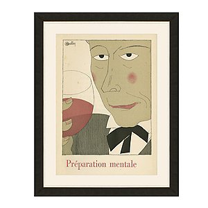 Preparation Mentale Vintage Advertising Print Reproduction (34 X