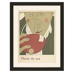 Plasir Du Nez Vintage Print (35 X 27)