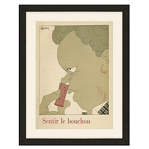Sentir Le Bouchon Vintage Advertising Print (35 X
