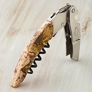 World Map Waiter's Corkscrew
