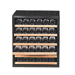 EuroCave Modulosteel Box with 6 MDS Rolling Shelves