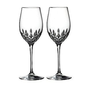 Waterford Lismore Essence White Wine Goblets (Set of