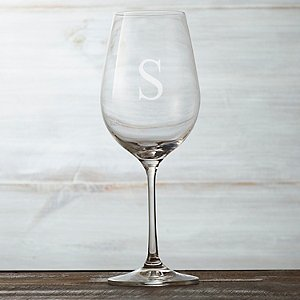 Personalized Fusion Table White Wine Glasses (Set of
