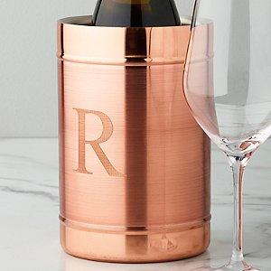 Personalized Copper Wine Chiller