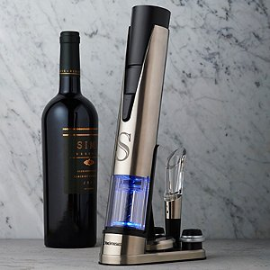 Personalized Electric Blue 1 Wine Opener & Preserver