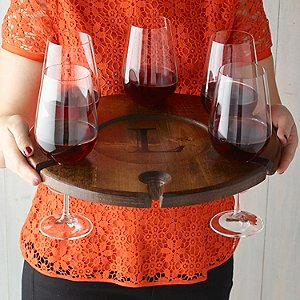 Personalized Wine Glass Carrier