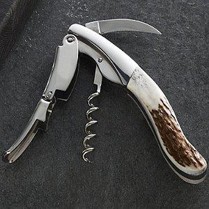 Legnoart Grand Cru Sommelier Corkscrew (Stag Horn)