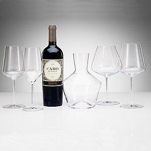 Zalto Denk'Art 5 Piece Decanter & Glasses Set
