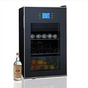 Beverage Center with Ice Bar