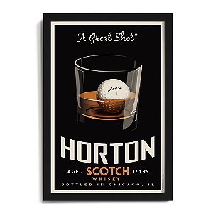 Personalized 'Great Shot Whisky' Framed Print