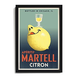 Personalized 'Citron' Framed Print