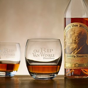Old Rip Van Winkle Bourbon Glass Set