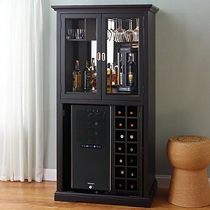 Firenze Wine and Spirits Armoire Bar with Free