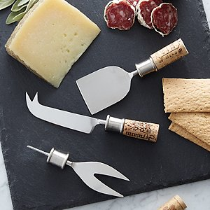 Cork Cheese Knives Kit (Set of 3)
