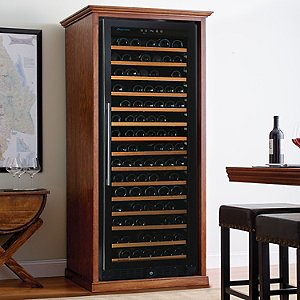 Custom Wine Cellar Cabinet
