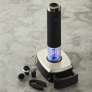 Electric Blue 1 Automatic Wine Opener & Preserver