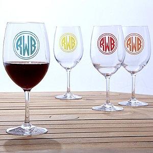 Personalized Indoor/Outdoor Wine Glasses