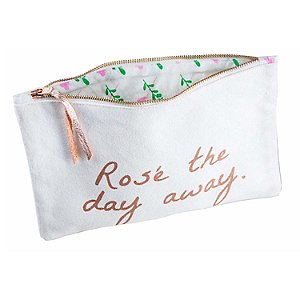 'Ros� The Day Away' Pouch