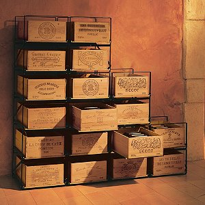 EuroCave Roll Out Bins Wine Rack