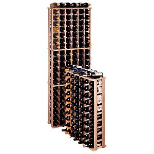 Redwood Modular Wine Rack Kit - 66 Bottle