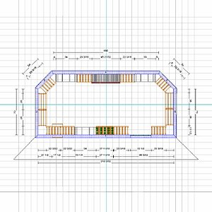 Custom Wine Cellar 2 Dimensional Design