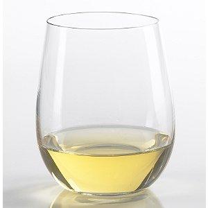 Riedel 'O' Chardonnay/Viognier Stemless Wine Glasses (Set of