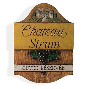Personalized Chateau Sign