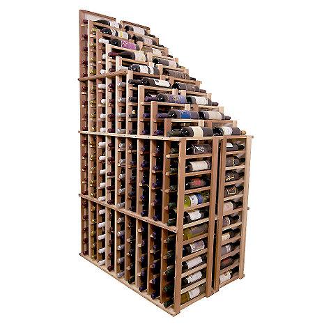 Sonoma Designer Wine Rack Kit - 270 Bottle Tiered Down Waterfall Rack