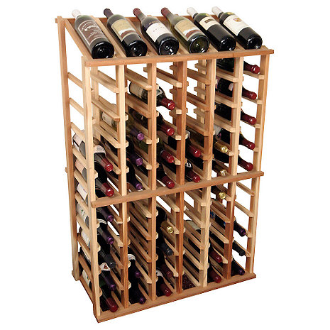 Sonoma Designer Wine Rack Kit - 6 Column Half Height w/Display