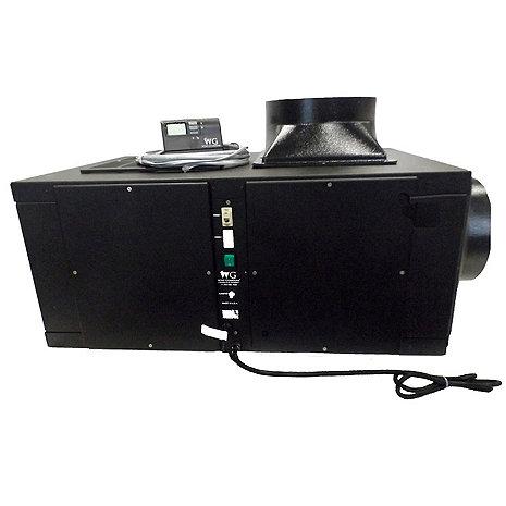 Wine Guardian 7800 BTU Wine Cellar Cooling Unit (Black Finish) (3000 Max Cu. Ft. - 1 ton Output)