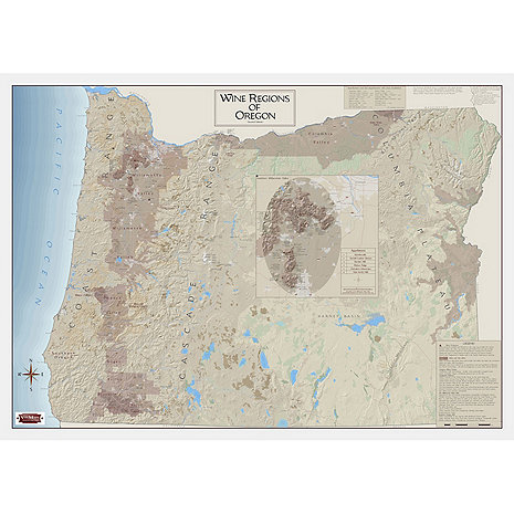 Wine Map Of Oregon